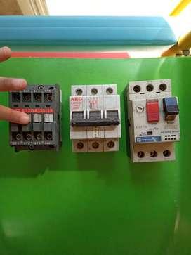 Llaves termicas y contactores
