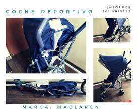 COCHE MACLAREN EN PERFECTO ESTADO COLOR AZUL NAVY
