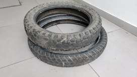 Juego de Cubiertas 130/80 18 + 90/90 21 Pirelli