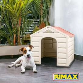 CASA PARA PERRO MARCA RIMAX. Ideal para tu mascota de raza pequeña,mediana o grande.