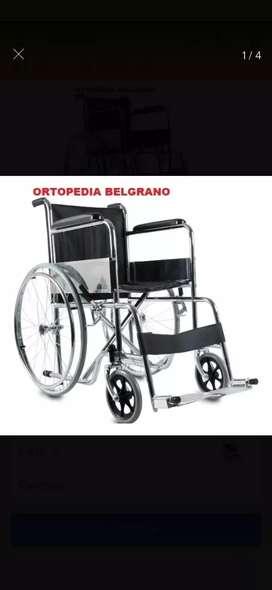 Vendo silla de ruedas nueva! 2 andadores uno con rueda y otro sin ruedas