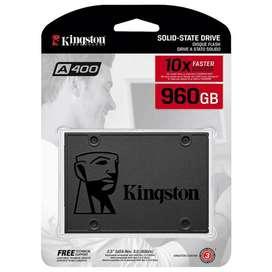 Disco Duro SSD capacidad 960GB de estado solido