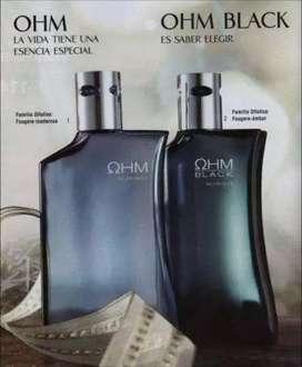 VENDO PERFUME OHM BLACK Y EDICION LIMITADA (AZUL)