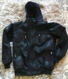 chaquetas negras para caballero