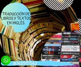 Traducción de Libros Y Textos