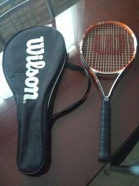 Vendo raqueta wilson flash