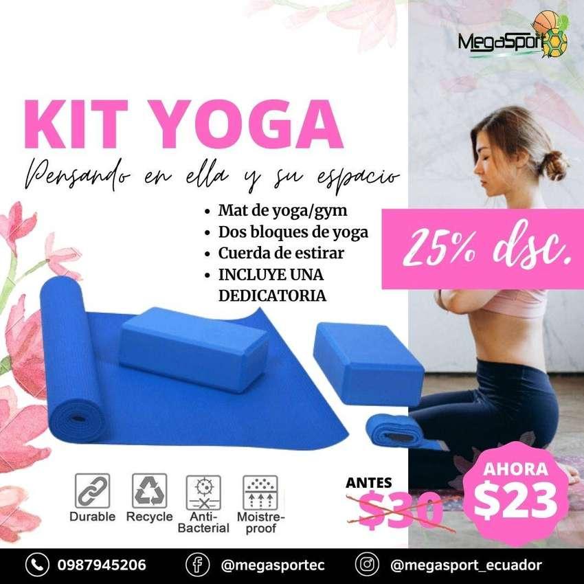 kit de yoga gym