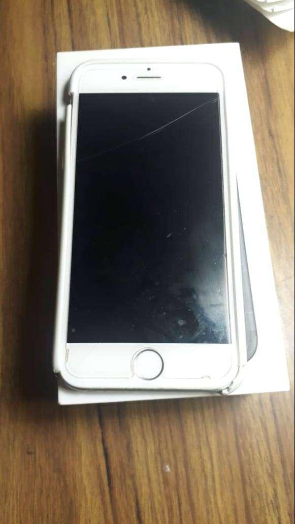 Iphone 7 Con caja. 32GB Blanco 0