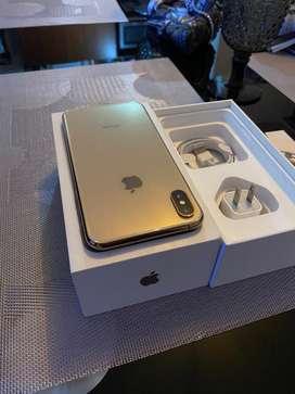 Iphone xs max 64gb dorado como nuevo
