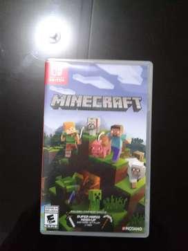 Minecraft Para Nintendo Switch En Físico Caja