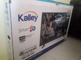Vendo Smart TV Kalley un mes de uso 43 pulgadas con todo tdt