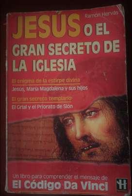 SE VENDE LIBRO JESÚS O EL GRAN SECRETO DE LA IGLESIA