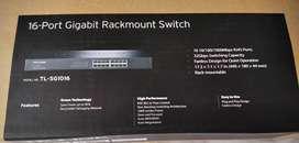 TL-SG1016 Switch con Montaje en Rack de 16 Puertos Gigabit