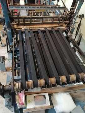 Maquina automática para fabricar bolsas plásticas