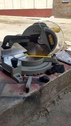 Acolilladora de 10 con disco madera y aluminio NUEVA