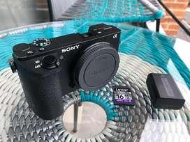 Sony a6500 + Lente 16-50 sony