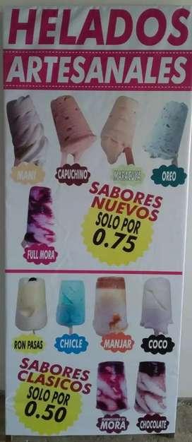 ventas de helados