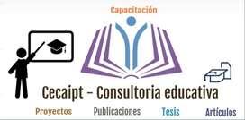 Consultoría, asesoría y diseño de: Proyectos de investigación, tesis, tfm, análisis de caso Ambato, Latacunga y Riobamba