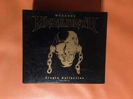 Megadeth Megabox colección de singles original