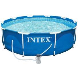 Piscina Intex Armable 305x76cm Red. 28201 Ds