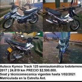 SE VENDE MOTO TRACK DE MARCA KYMCO