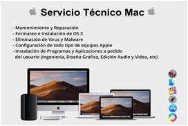 Servicio Técnico Macintosh (Apple)