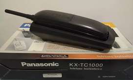 Teléfono Inalámbrico Panasonic KX-TC1000 AGB, Completo.