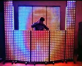 Pantallas Modular de Efectos Led Pixel  - Cabina DJ y Animación