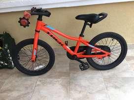 Bicicleta niño Rin 16 Trek !! buen estado