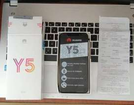 Huawei y5 nuevo ,destapado para revisar únicamente