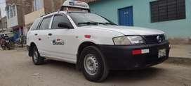 Vendo taxi Nissan AD 2006 en perfectas condiciones listo para trabajar
