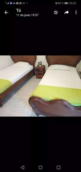 Vendo camas y camarotes usados buen estado