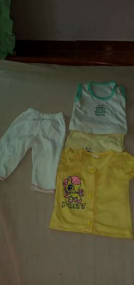 50 lote de ropa para bebé niña