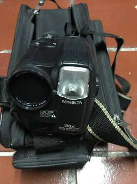 vendo cámara de video minolta 563CLS