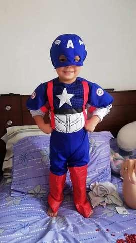 Vendo disfraz Capitán América