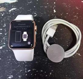 Apple Watch 38mm Series 3 Impecable Estado, Cargador , libre , Garantía 3 Meses