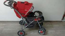 Vendo Coche Cuna Kiddy Plegable
