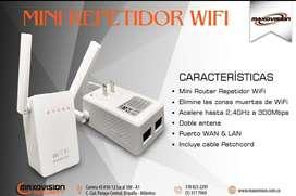 Repetidor wifi, Amplifica la potencia de tus espacios
