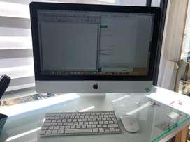 iMac 21.5 Mid 2014 500gb Muy Buen Estado! Único dueño comprado en ishop en su caja Original