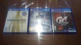 3 juegos d play 4