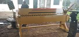 En Fabricacion Dobladora de tool cap. 2 m.m. de 2.45 Mts