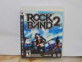 Rock Band 2 Play Station 3 Ps3 Juego