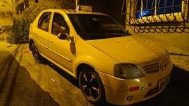 Se vende taxi amarillo Renaul logan