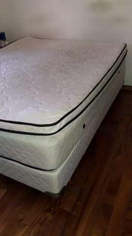 Sommier 2 plazas con camas individuales