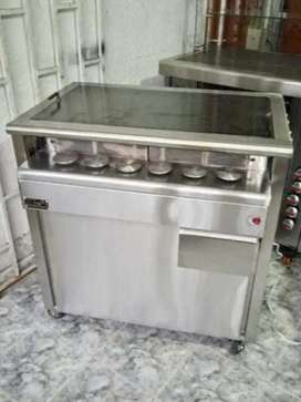 Estufas para arepas boyacense y snacks de queso