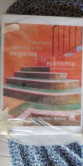 Se vende libro de Estadistica de McGraw Hill