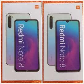 Redmi Note 8 de 128Gbs NUEVOS, ORIGINALES Y HOMOLOGADOS .