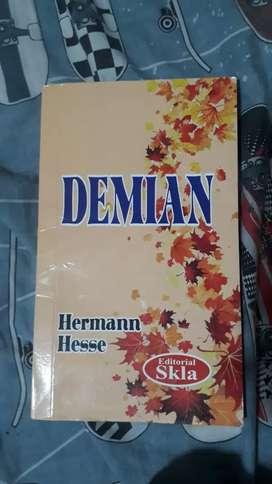 """""""Demián"""" libro de Herman Hesse (original)"""