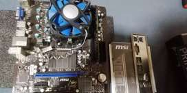 Combo PC gamer Amd FX + Mother Am3+ msi!
