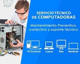 Servicio técnico de PC, tablet, celulares